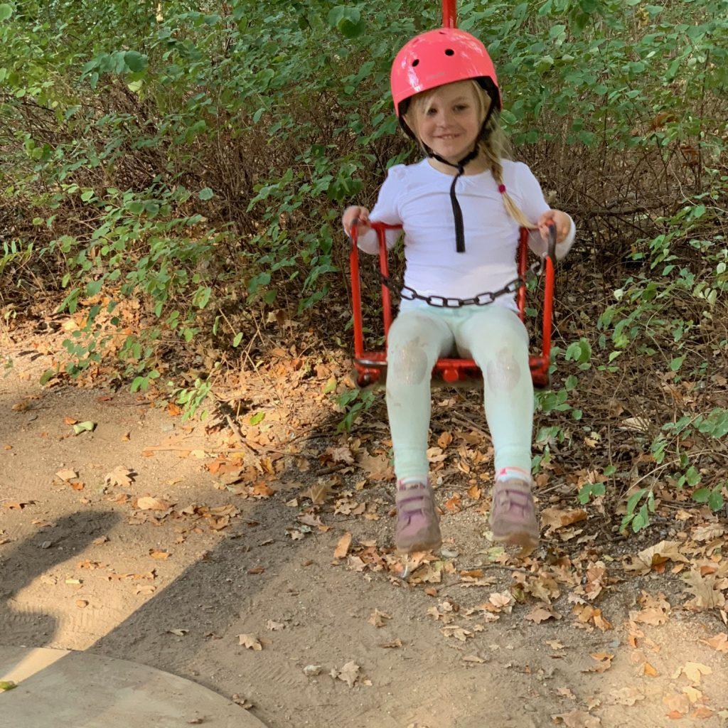 Eine Fahrt mit dem Karussell