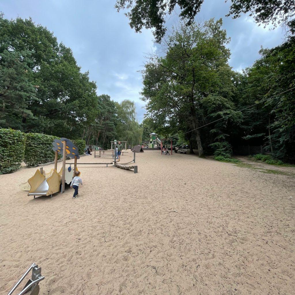 Spielplatz im Tierpark Tannenbusch